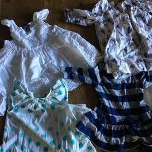 Baby gap girl dress - lot of 4